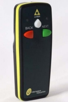 2 Button wireless remote control with laser